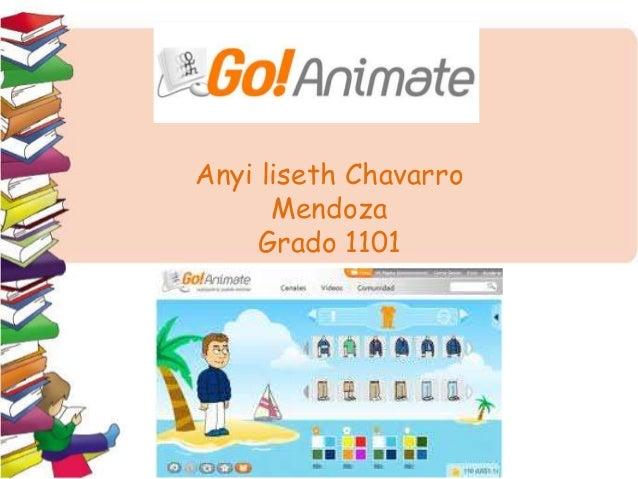 Anyi liseth Chavarro  Mendoza  Grado 1101