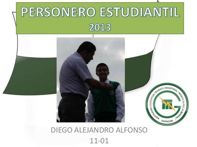 DIEGO ALEJANDRO ALFONSO          11-01