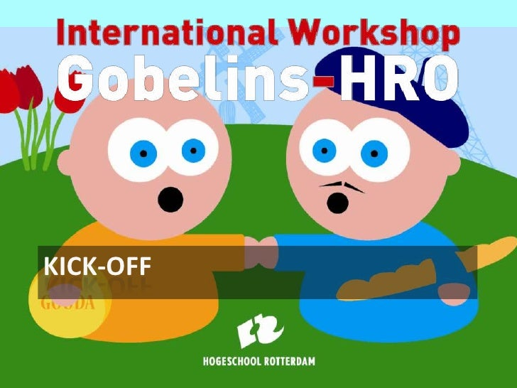 Gobelins hro workshop kick-off