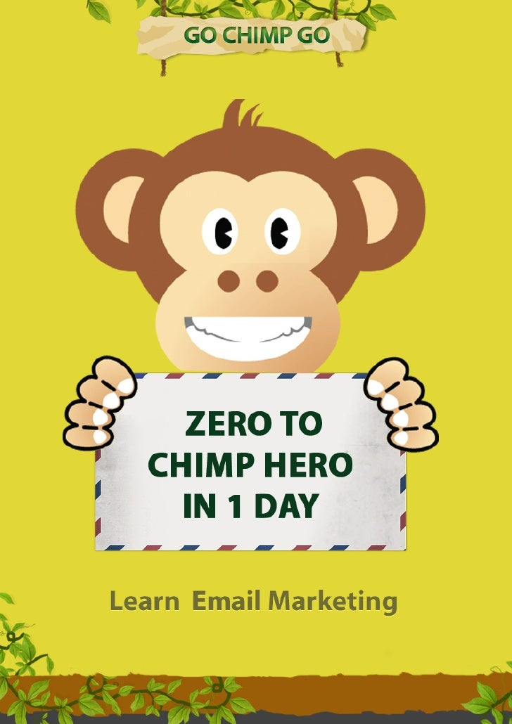 Go Chimp Go Learn Email Marketing