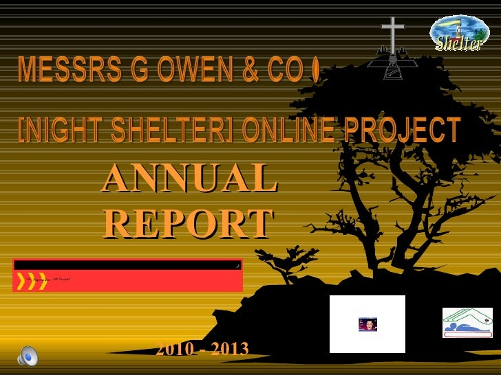 ANNUAL REPORT 2010 - 2013