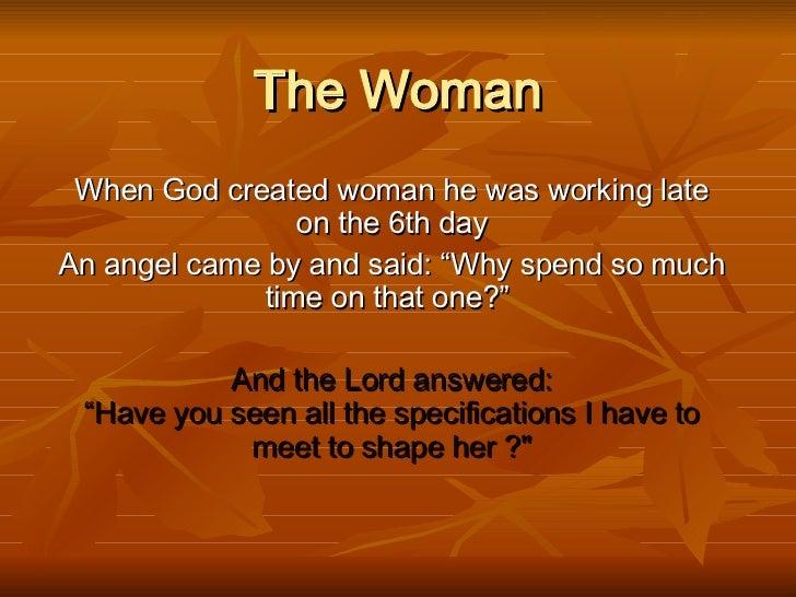 God And Woman