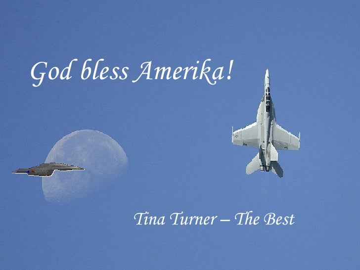 Tina Turner – The Best God bless Amerika !