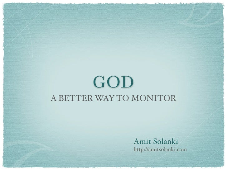 God Presentation