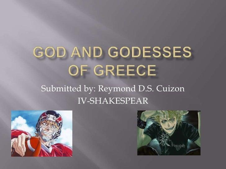 God and godesses
