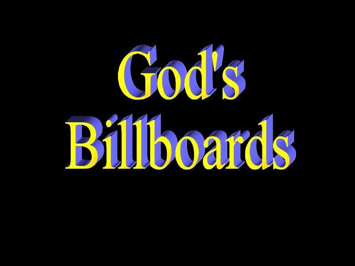 God's Billboards