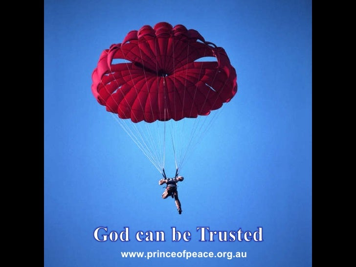 God Can Be Trusted (Wonder 2/7)