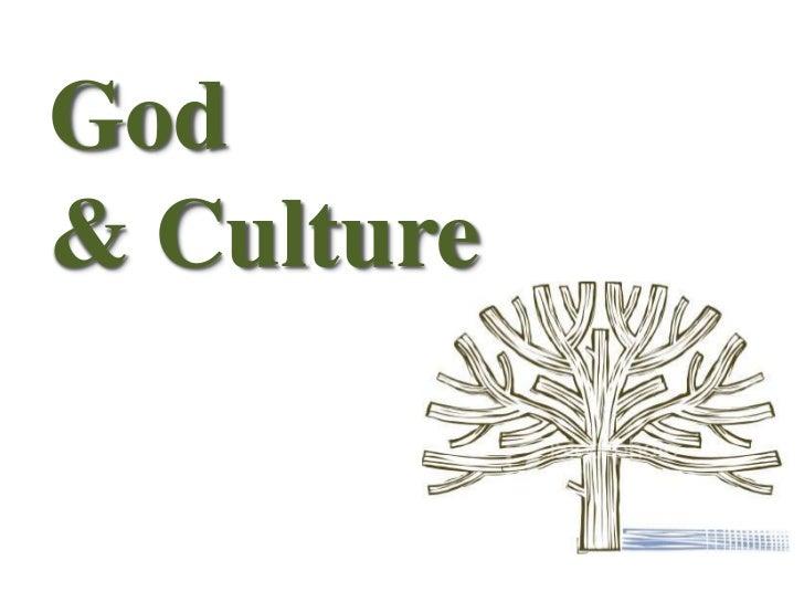 God & culture