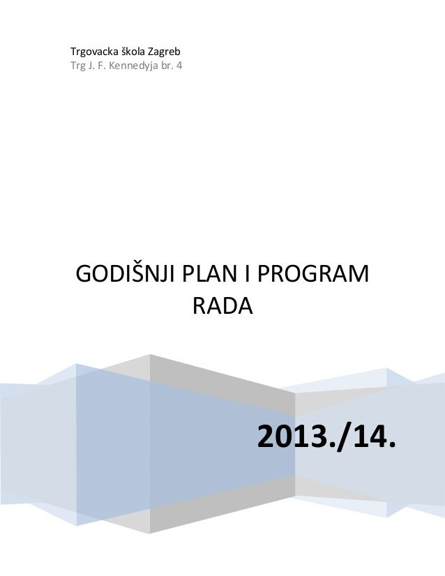 Godisnji plan-2013-14