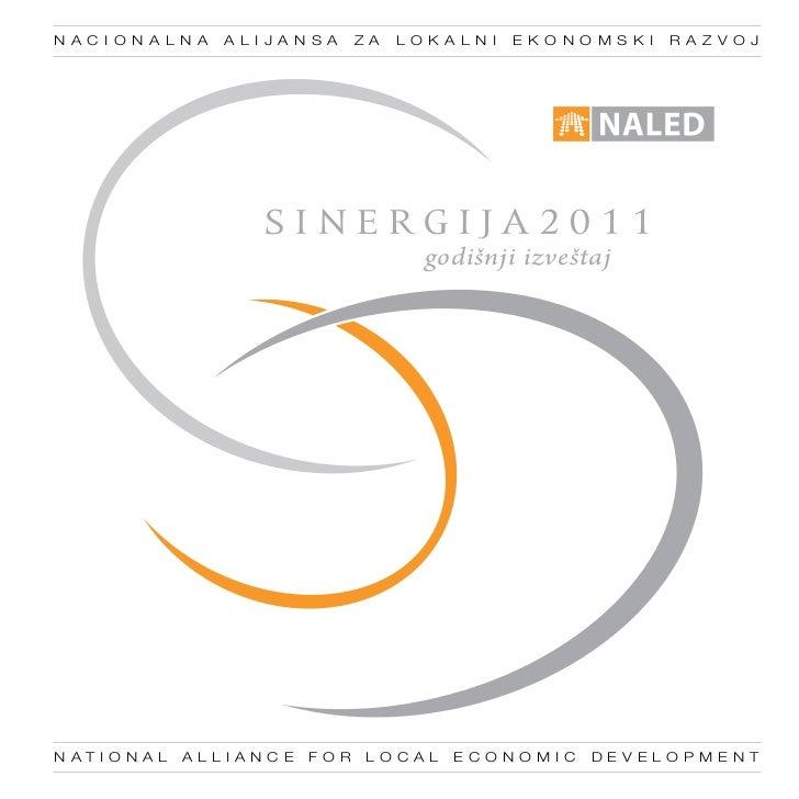 Godišnji izveštaj Sinergija 2011. - NALED