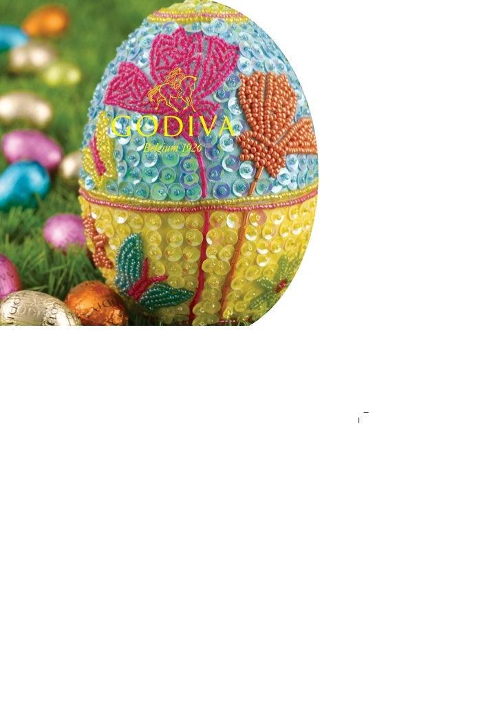 Easter 2011 - Luxury Chocolate Catalog
