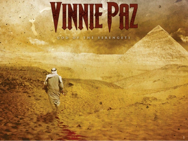 Vinnie Paz - God Of The Serengeti: Digital Booklet