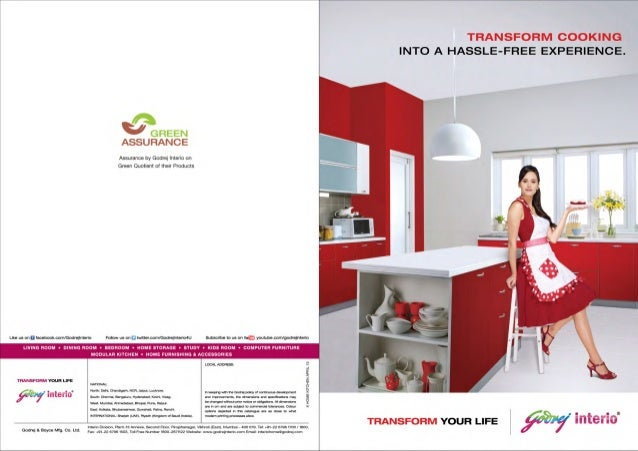 Godrej interio brochure Godrej home furniture catalogue