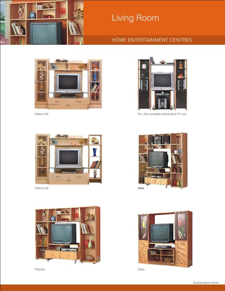 Godrej Interio Home Catalogue