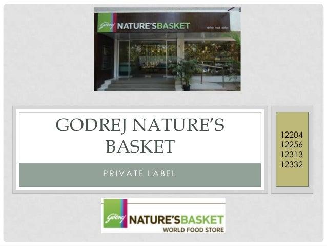 Godrej nature's basket