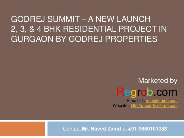 Godrej summit 2/3/4 bhk residential apartments & penthouse in gurgaon