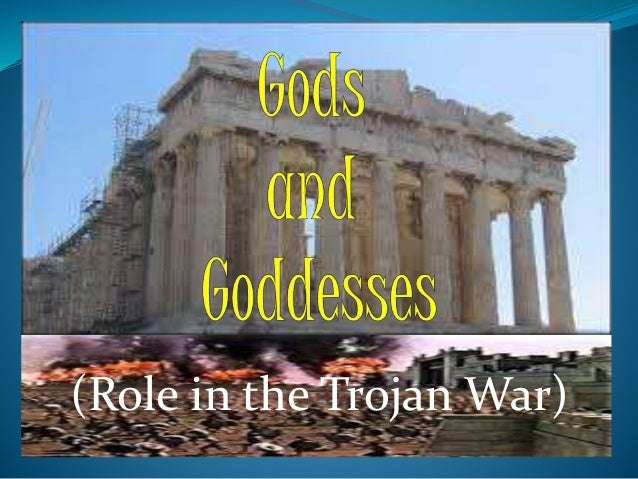 role of the gods in the iliad essay The iliad is a treasure-house of beautiful objects of art swords, cups, robes, bows, beds, shields the poem's most beautiful symbols are, first of all, absolutely.