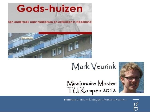Aanleiding en onderzoeksvraagAanleidingNaast het traditionele kerkmodel zijnnieuwe modellen van kerk-zijn inopkomst.Deze m...