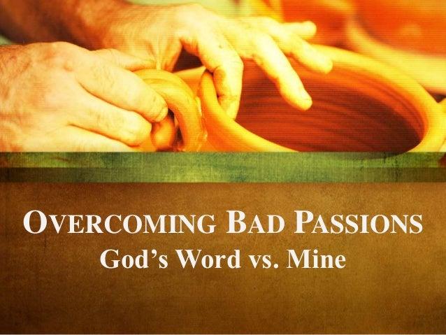 God's Word Versus Mine