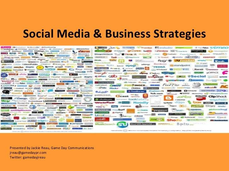 Social Media Strategies for Business, Goering Center
