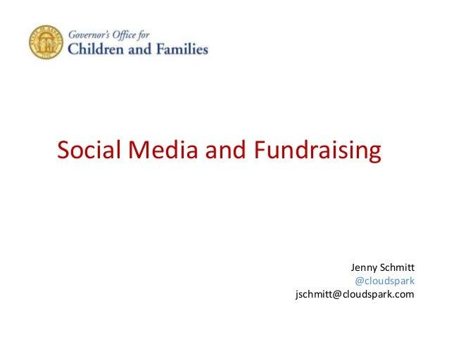 Social Media, Marketing and Fundraising