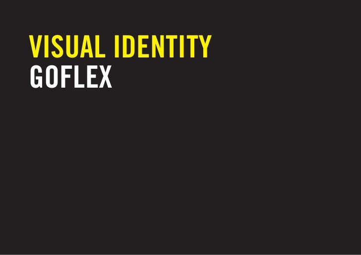 VISUAL IDENTITYGOFLEX