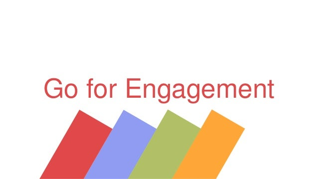 Go for Engagement by David Vermeir