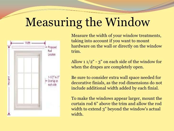 Curtain rod height