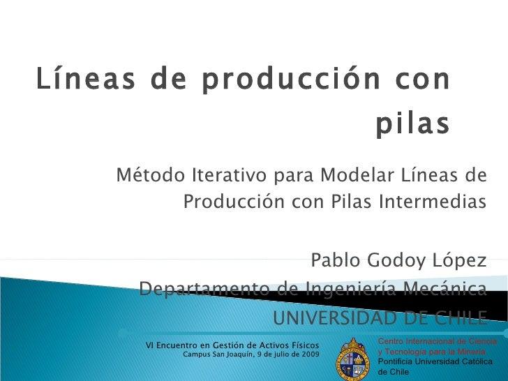 Líneas de producción con                                                          pilas     Método Iterativo para Modelar ...
