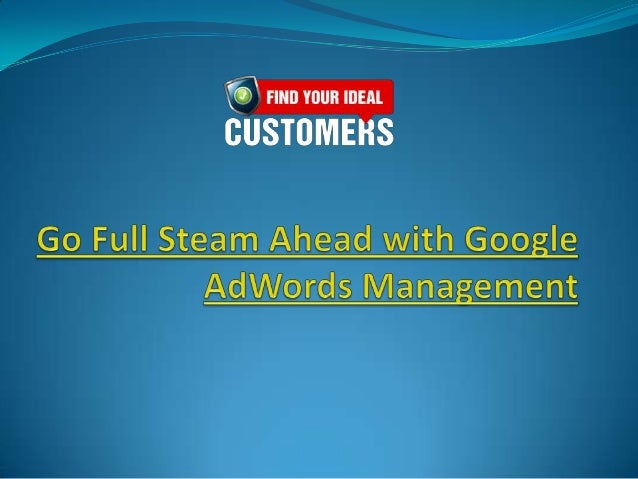 Has low traffic to your website derailed your onlineadvertising efforts? Not to worry because GoogleAdWords Management can...
