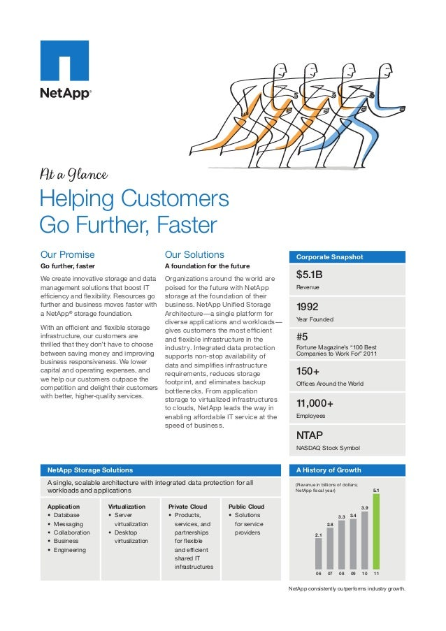 At a Glance  Helping Customers Go Further, Faster Our Promise  Our Solutions  Go further, faster  A foundation for the fut...