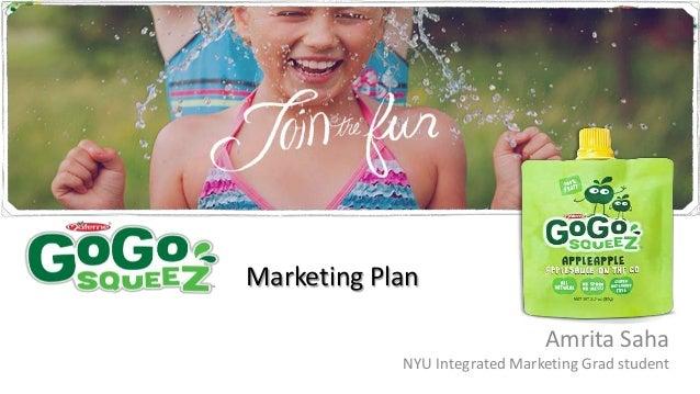 Go Go Squeez Marketing Plan