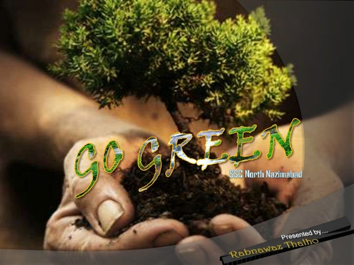 GO GREEN<br />SSC North Nazimabad<br />
