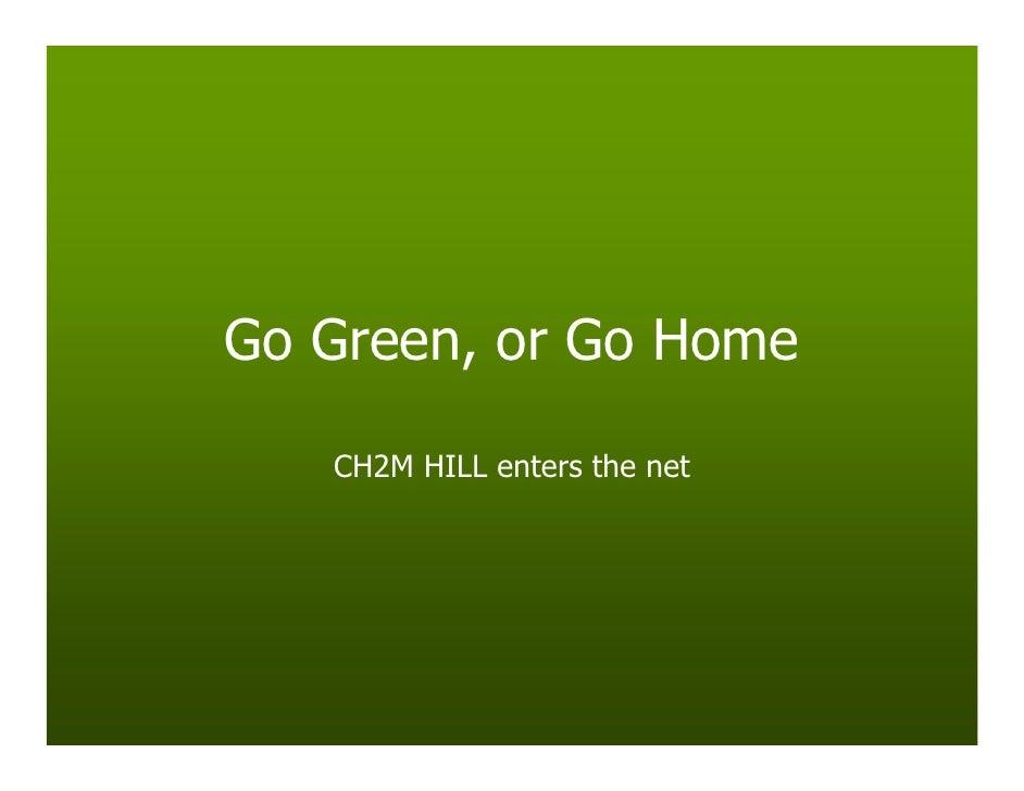 Go Green Go Home Final