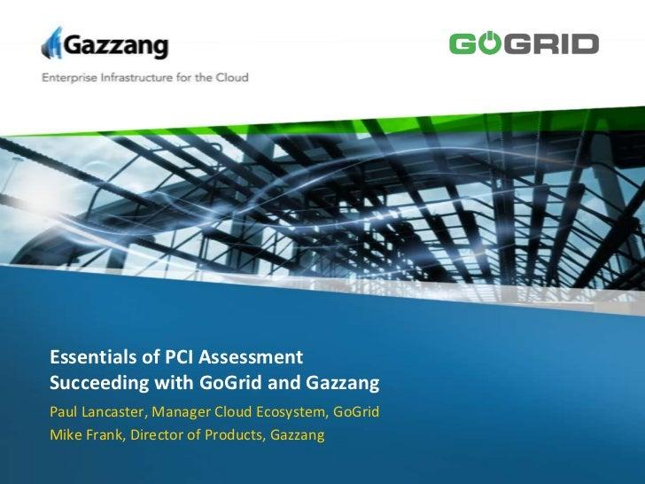 Essentials of PCI Assessment