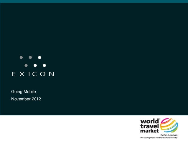 Going Mobile at World Travel Market 2012