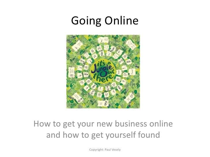 Going Online   SEO Presentation