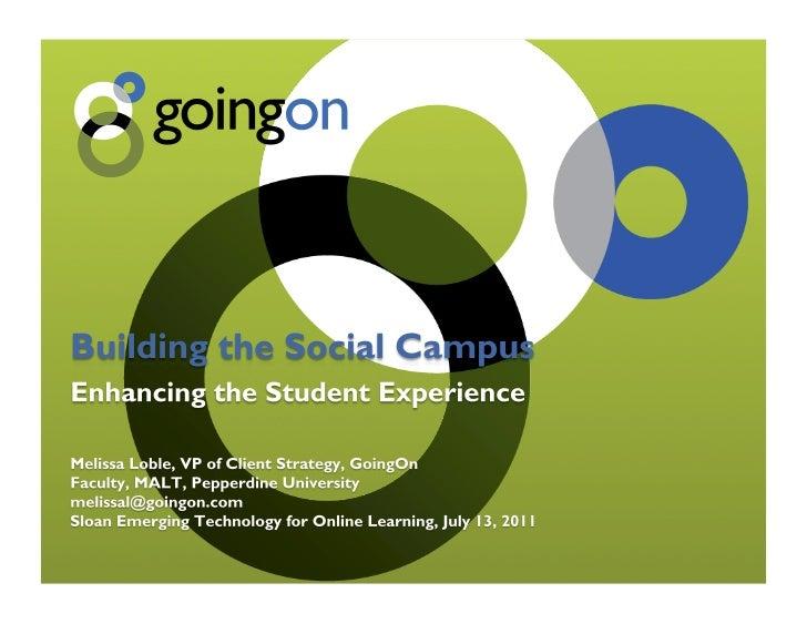 Building the Social Campus