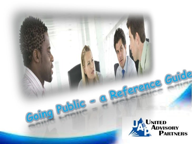 Going public   a reference guide