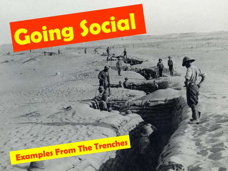 Going Social<br />Examples From The Trenches<br />