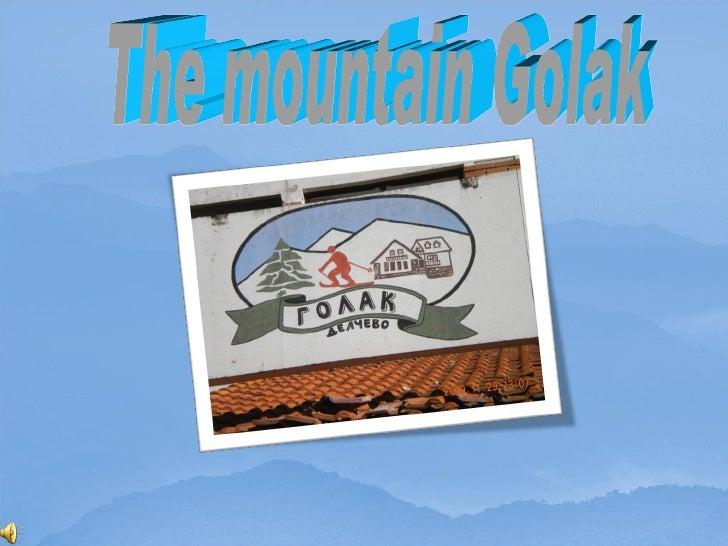 The mountain Golak