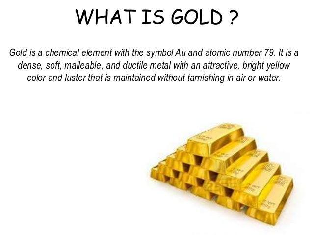 Gold a dead asset