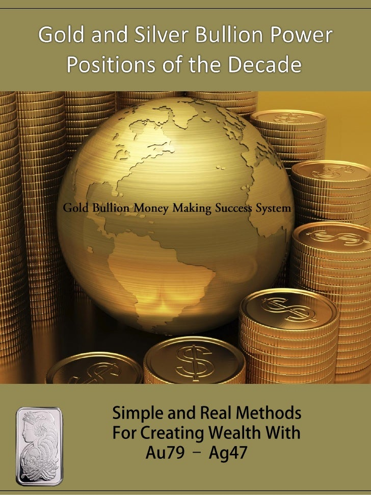 Gold Bullion and Precious Metals Income and Revenue Strategies for 2011Two days away from the start of 2011 and less than ...