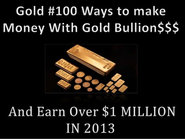 Gold business buying opportunities