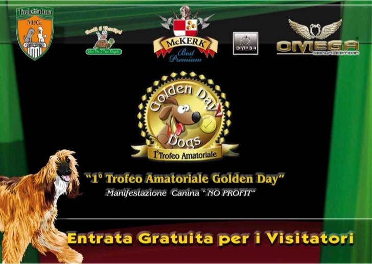 1° Trofeo Amatoriale Golden Day Dogs