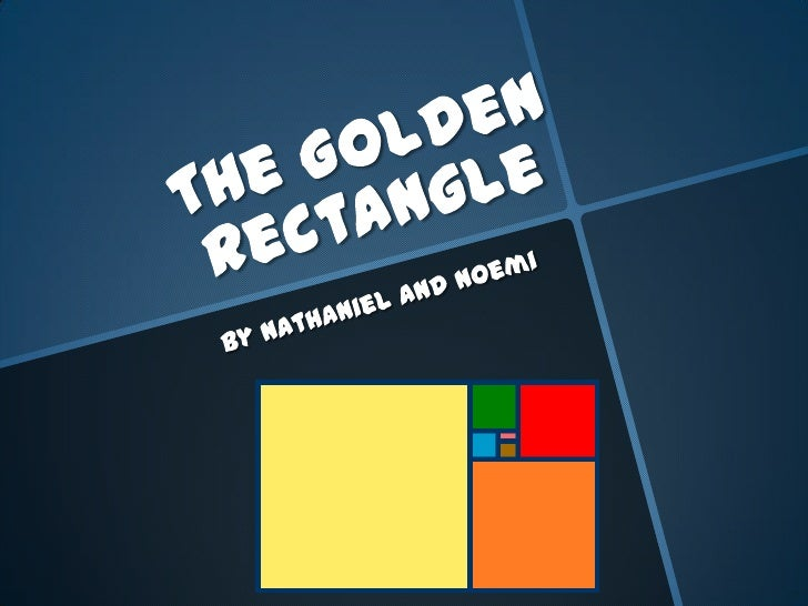 Also known as The  Golden Mean, φ  (Phi), The Golden  Proportion Named after Phidias, a  greek sculptor that used  the ...