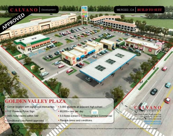 C A L VA N O                                 Development                                                                  ...