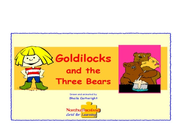 Once upon a time there were three bears.
