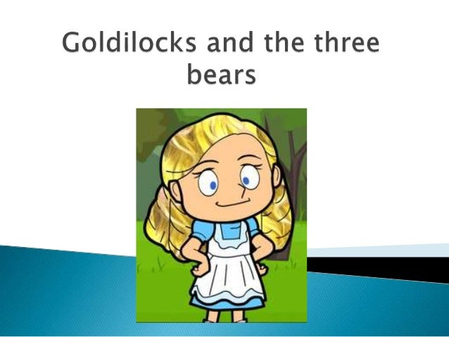 Goldilocks And Three Bears 1 Pictures To Pin On Pinterest