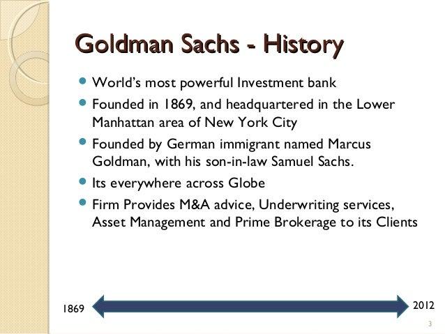 Goldman Sachs A Bubble Making Machine